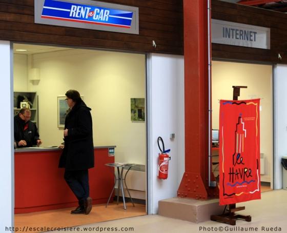 Le Havre - Terminal Croisière - Location de voiture