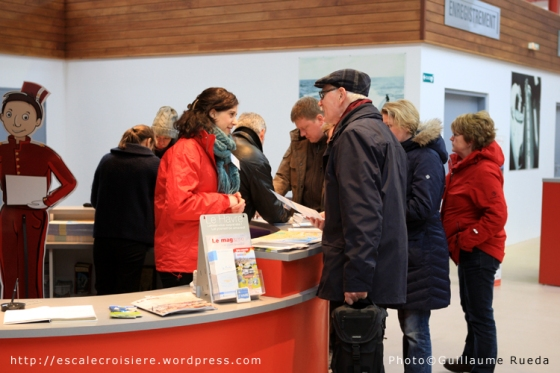 Le Havre - Terminal Croisière - Office du tourisme