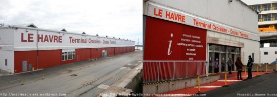 Le Havre Terminal croisiere