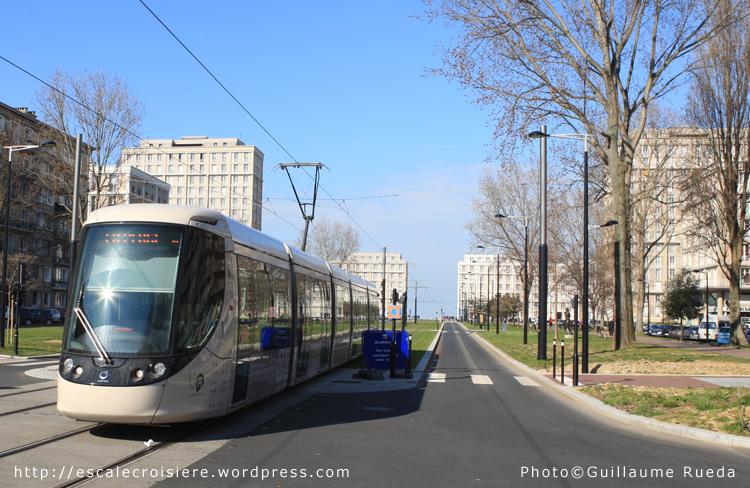 Le Havre - Tramway Porte Océane