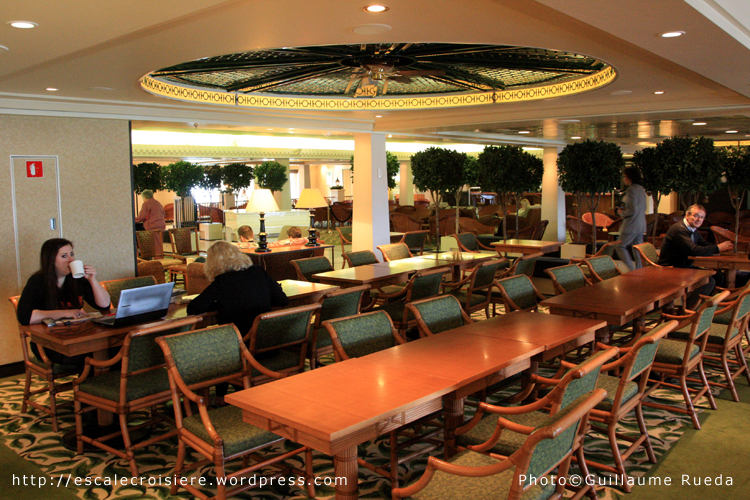 Queen Mary 2 - Jardin d'hiver