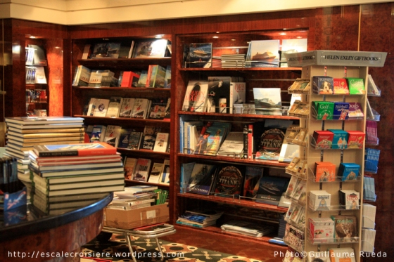 Queen Mary 2 - Librairie