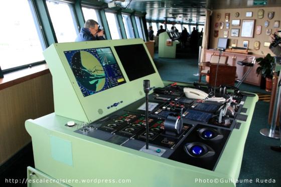 Queen Mary 2 - Passerelle