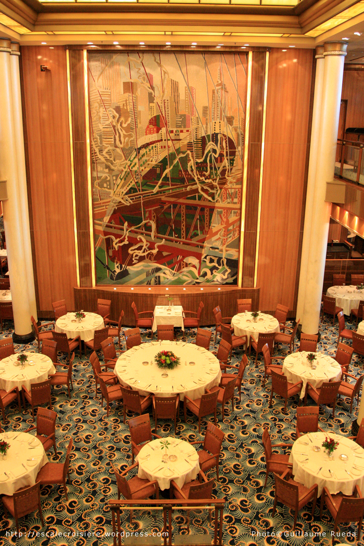 Queen Mary 2 - Restaurant Britannia