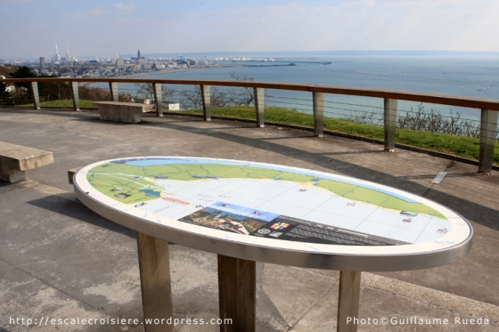 Sainte-Adresse - Table d'orientation