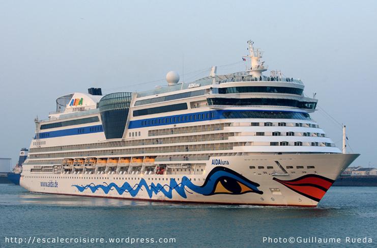 AIDALuna - Le Havre - 01-04-2013