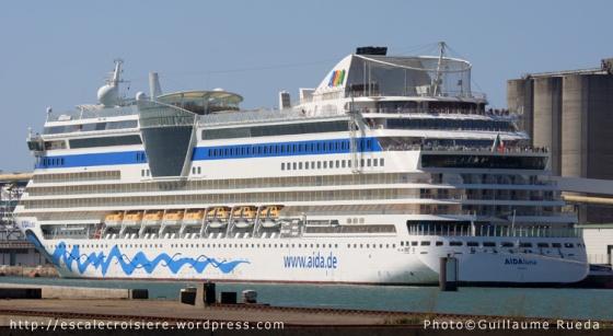 AIDAluna - Le Havre - 29-04-2013