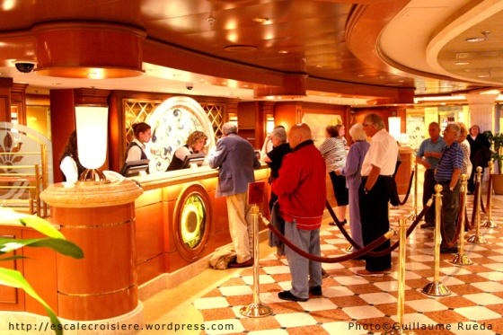 Crown Princess - Bureau information