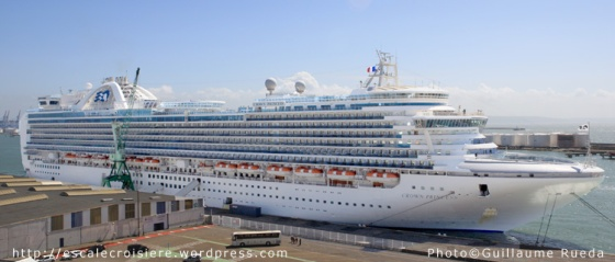 Crown Princess - Le Havre - 29-04-2013