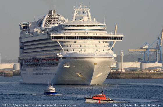 Crown Princess - Le Havre