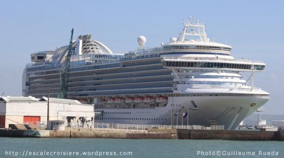 Crown Princess - Le Havre - 29-04-2013