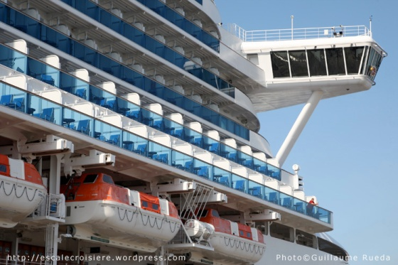Crown Princess - passerelle