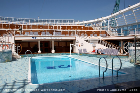 Crown Princess - Piscine