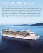 Crown Princess - brochure et plan des ponts