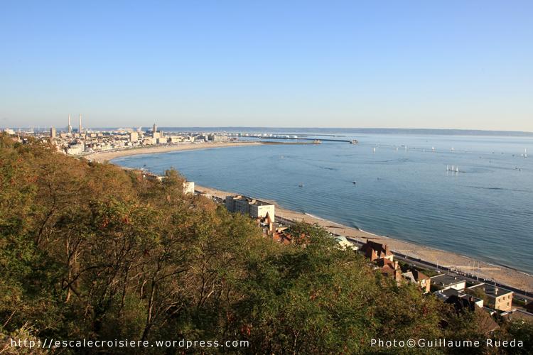 Le Havre depuis Saint Adresse