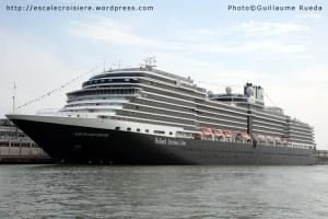 Nieuw Amsterdam en escale à Venise