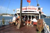 Baie d'Halong - bateau d'excursion