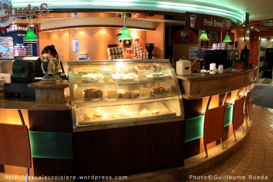 Bar à glaces et a cookies - Vision of the Seas