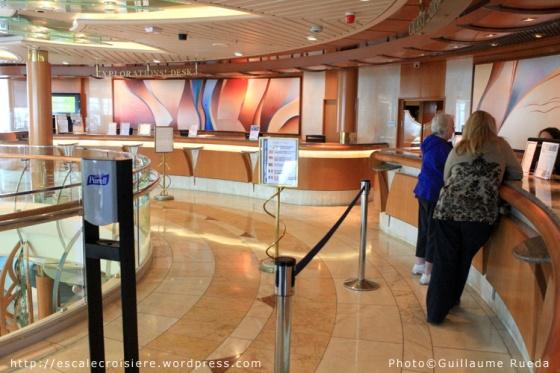Bureau des excursions - Vision of the Seas