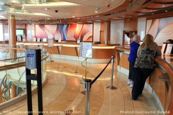 Bureau des excursions - Vision of the Seas