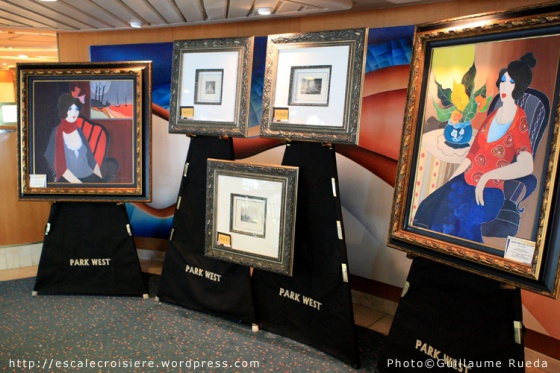 Galerie d'art - Vision of the Seas