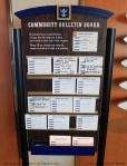 Panneau des communautés - Vision of the Seas