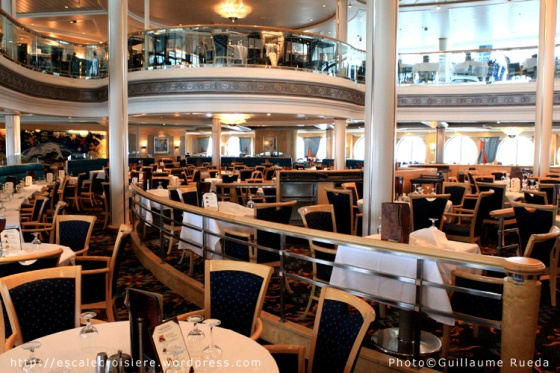 Restaurant Aquarius - Vision of the Seas