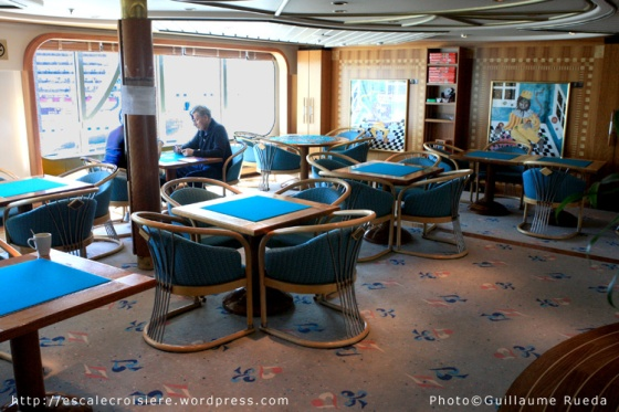 Salle de jeux - bridge - Vision of the Seas