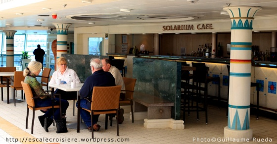 Solarium Cafe - Vision of the Seas