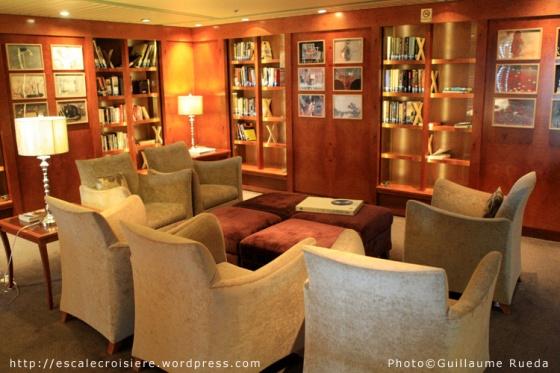 Bibliothèque - Celebrity Cruise