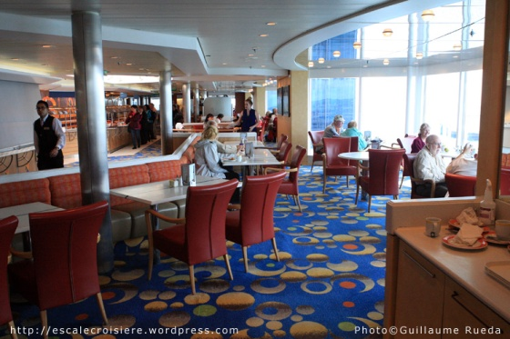 Oceanview café - Celebrity Infinity