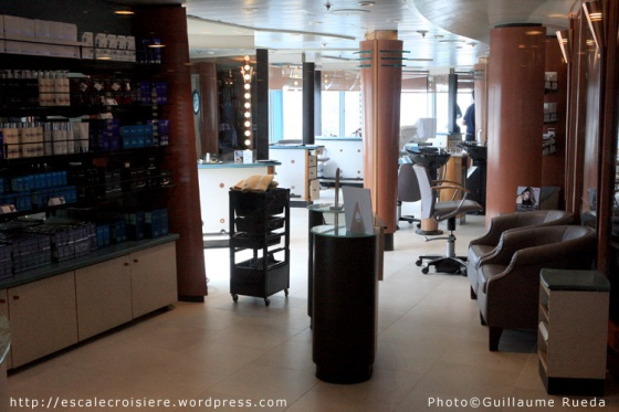 Salon de coiffure - Celebrity Infinity