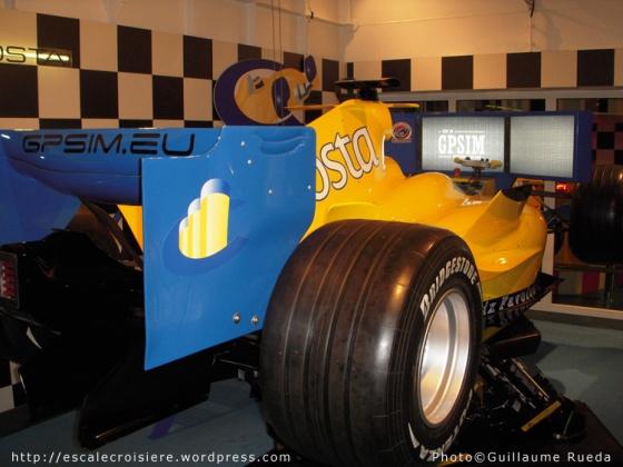 Simultateur de Grand Prix - Costa Favolosa
