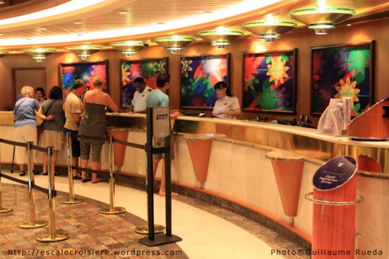 Liberty of the Seas - Bureau des excursions