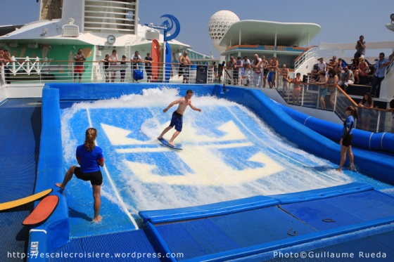 Liberty of the Seas - Flow Rider
