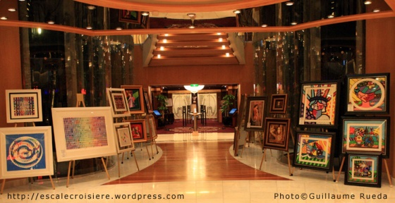 Liberty of The Seas - Galerie d'Art