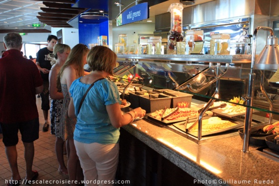 Liberty of the Seas - Jade et Windjammer café