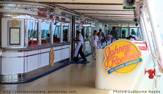 Liberty of the Seas - Johnny Rocket restaurant
