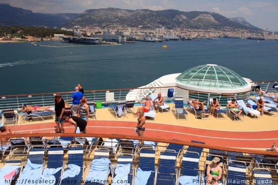 Liberty of the Seas - Piste de jogging