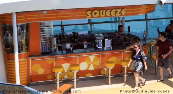 Liberty of the Seas - Squeeze Bar