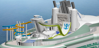 Liberty of the Seas - Toboggan Boomrango