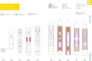 plan des ponts - Costa Classica