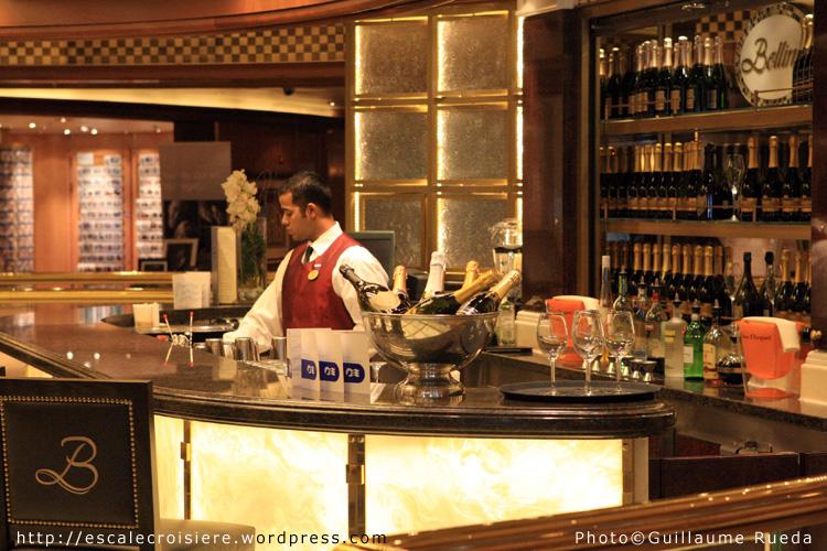 Royal Princess - Bar à champagne - Bellini's