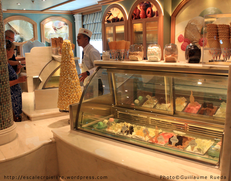 Royal Princess - Bar à glaces Gelato 1
