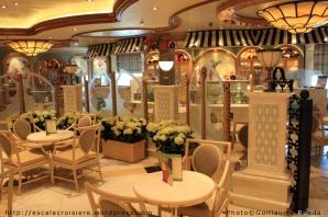 Royal Princess - Bar à glaces Gelato