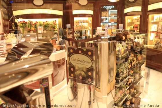 Royal Princess - Boutique - Confiserie et Fleuriste