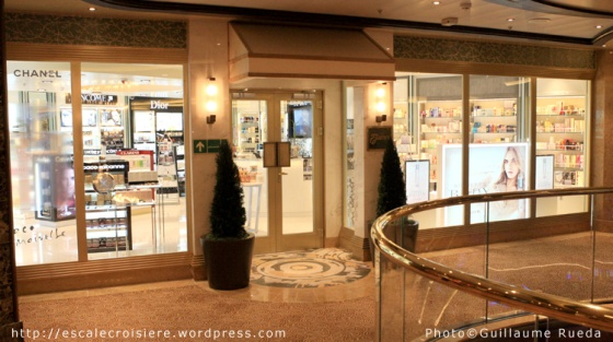 Royal Princess - Boutique - Parfumerie