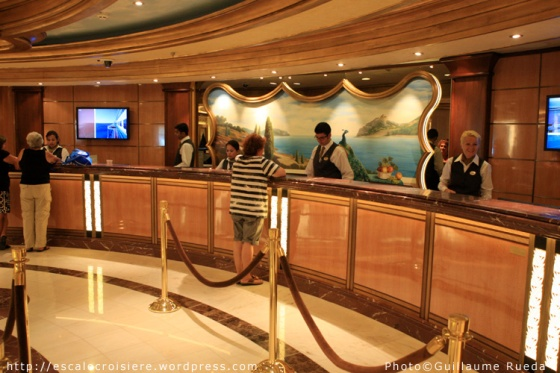 Royal Princess - Bureau information