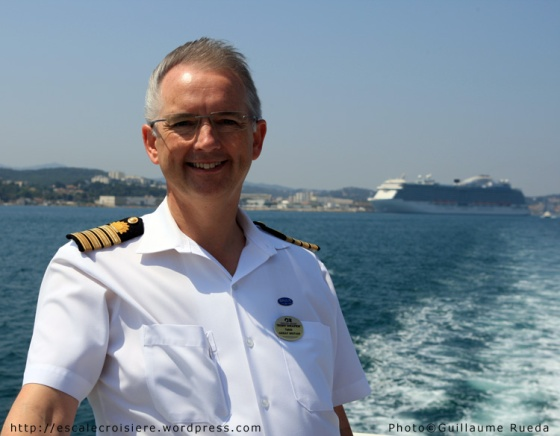 Royal Princess - Commandant Tony Draper