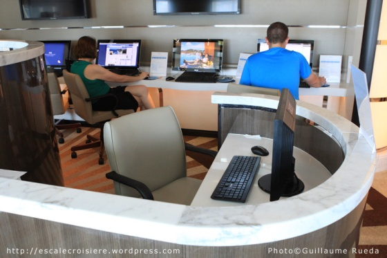 Royal Princess - Internet Café